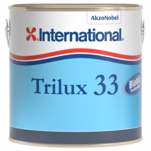 International Trilux 33 White Antifouling Boat Paint 750ml